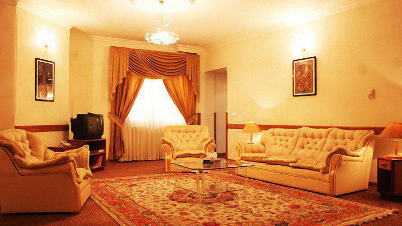 نمای داخلی اتاق های هتل صبا